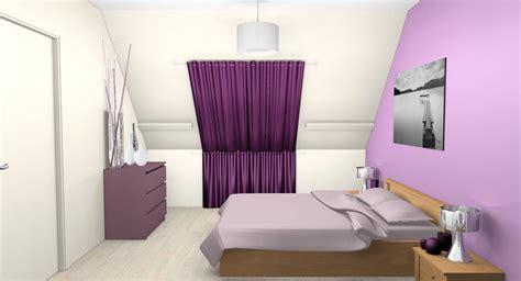 chambre parme et beige et dcoration duune maison eaubonne with chambre parme et beige