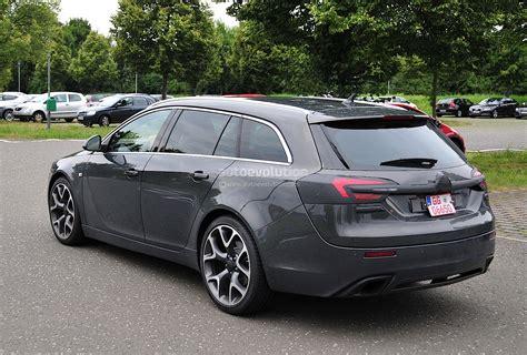 Spyshots Opel Insignia Opc Sports Tourer Getting A