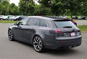 Opel Insignia Opc : spyshots opel insignia opc sports tourer getting a refresh autoevolution ~ New.letsfixerimages.club Revue des Voitures