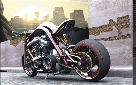 Fleet Street Motorcycle Is A Combination Of Super Bike