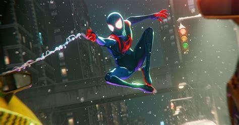 spider man miles morales spider verse suit  ways