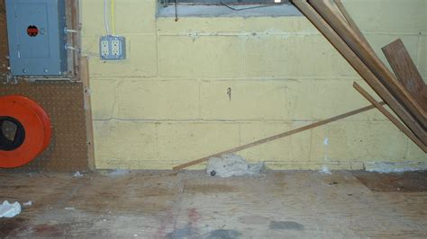 Cracks In Basement Wall Real Estate Brokers Appraisals
