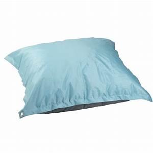 Mousse Pour Coussin Gifi : coussin de sol bleu et gris coussin mobilier de jardin ~ Dailycaller-alerts.com Idées de Décoration