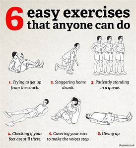 6 easy exercise... Simple Practice