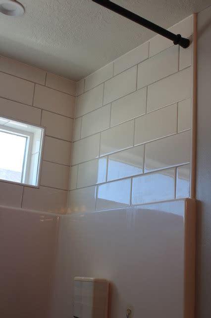 tile above tub surround tile above shower enclosure industrial salt lake city