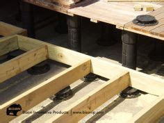 bison deck supports toronto hydra pressed paver on bison supports patios