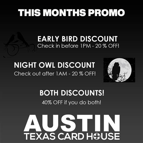 Maybe you would like to learn more about one of these? Texas Card House   North Austin