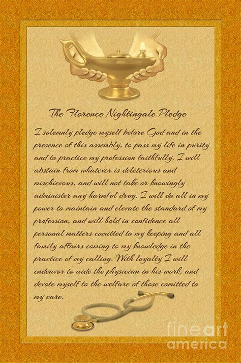 the florence nightingale pledge digital by chris macdonald