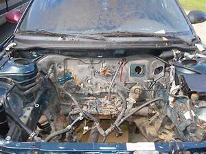 Mazda 626 Engine Bay