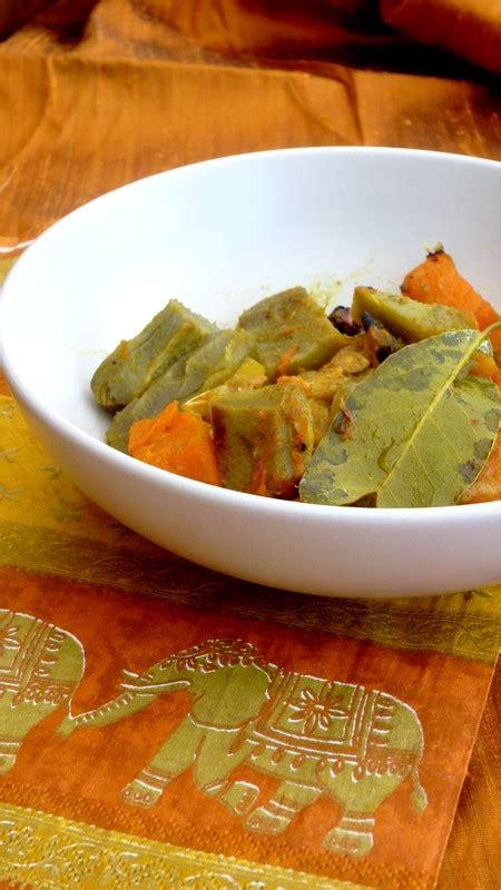 cuisine de tous les jours curry de poulet artichaut et courge cuisine de tous les