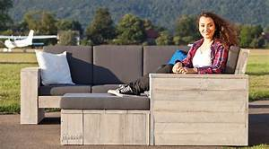 Loungemöbel Holz Outdoor : edle loungem bel gartenm bel aus gebrauchtem holz wittekind outdoor furniture sets ~ Watch28wear.com Haus und Dekorationen