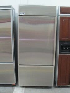 ge monogram   stainless steel built  refrigerator  bottom freezer ebay