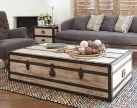 Steamer Garden Chairs by Wood Coffee Table Trunk The Interior Design Inspiration