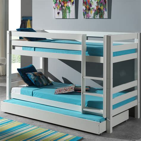 lit superpose lit tiroir lit enfant superpos 233 tiroir de lit quot pino quot blanc