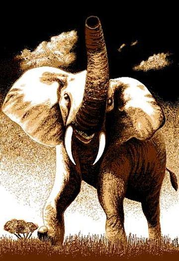 elephant area rug bold elephant tusks area rug modern kenya safari