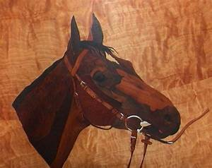 Marquetry Horse by decojo on DeviantArt
