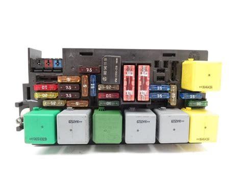 mercedes gl450 gl ml r class fuse box engine 1645400072