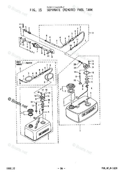 Boats Net Tohatsu Parts by Tohatsu 2002 M5bs 2 Stroke Tohatsu Oem Parts Diagram For
