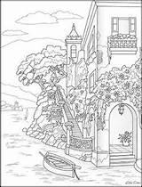 Coloring Paisaje Coloriage Colorear Colorir Adulte Paysage Pintar Mandala Ausmalbilder Dibujos Desenhos Monster Colorier Erwachsene Colouring Omeletozeu Dessin Adult Malvorlagen sketch template