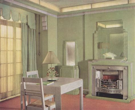 1930 homes interior 1930s interior design matthew 39 s island of misfit toys
