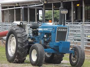 Ford 7600 Low Profile Tractor This Was Introduced In 1976