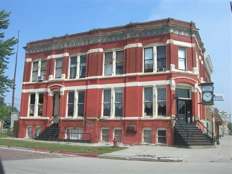 Pinnacle bank with 56 offices, u.s. Burt County State Bank | Tekamah, Nebraska Constructed in ...
