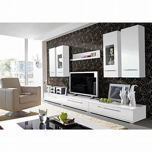 10 decorating ideas for white living rooms furniture fif for High gloss furniture for living room