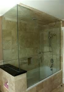 Inline Shower Door by Tub Enclosures With End Panels Artistcraft Com