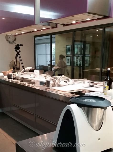 ecole de cuisine thermomix steam cooking with miele at alain ducasse of