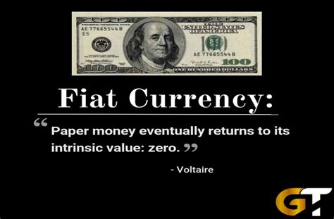 What Is Fiat Money In Economics by There Is No Escaping History Fiat Currency Eventually