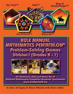 Pentathlon Institute Game Descriptions Division I  U2013 Grades K