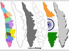 Vector Kerala India Map Set Download Free Vector Art