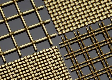 Patterned Panel Cutout Swimdress satin brass decorative plating woven wire mesh material