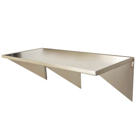 30 x 48 stainless steel table eagle group wt3048se 30 quot x 48 quot stainless steel wall