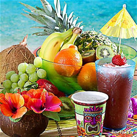 luau food ideas recipes party city