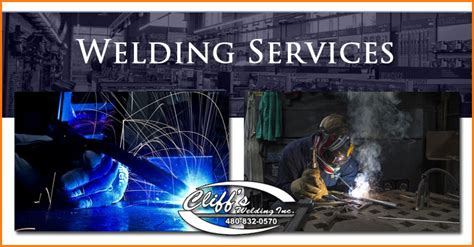 welding services mesa residential  commercial cliff