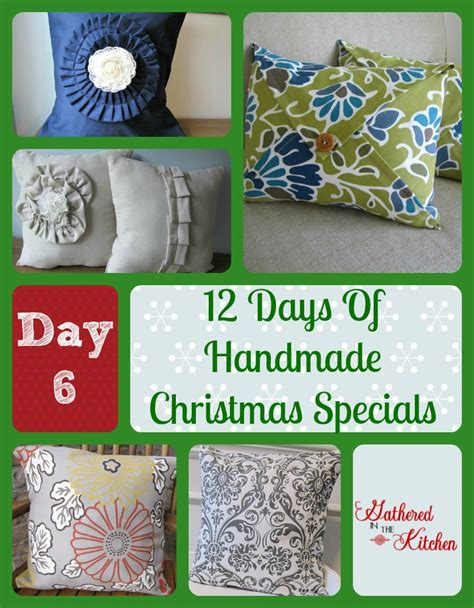 12 handmade s day 12 days of handmade christmas specials day 6 pillow covers