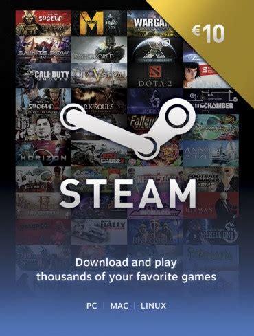 wo bekomme ich  euro gutschein fuer steam  games