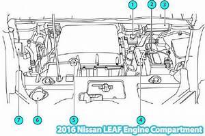 2016 Nissan Leaf Engine Compartment Parts Diagram