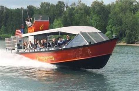Portland Jet Boat Cruises outrageous jet boat river cruise portland or address