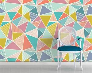 Geometric pattern as wall decoration and other interesting
