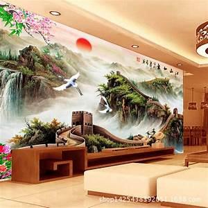 Aliexpress.com : Buy beibehang 3d Chinese landscape ...