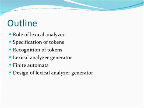 ch lexical cuisine 02 chapter 3 lexical analysis
