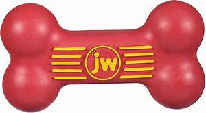 JW Pet iSqueak Bone Dog Toy, Color Varies, Large - Chewy.com