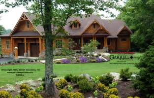 mountainside home plans nantahala cottage rustic mountain house plan