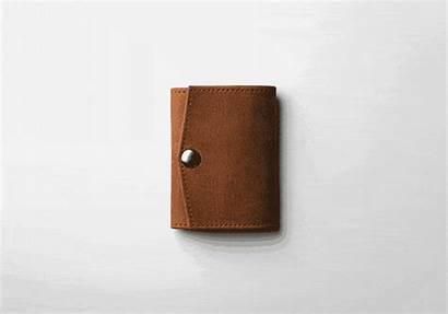 Leather Kickstarter Wallet Bordo Rfid Skop Andrew