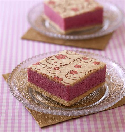 recette de cuisine pour anniversaire gâteau hello à la mousse de framboises les
