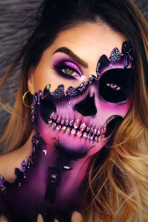 cool skeleton makeup ideas    halloween page    stayglam