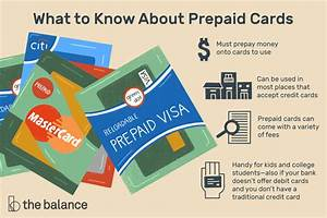 How Does A Prepaid Credit Card Work