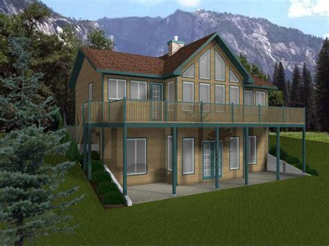 House Plans with Walkout Basement Walk Out Basement Cabin